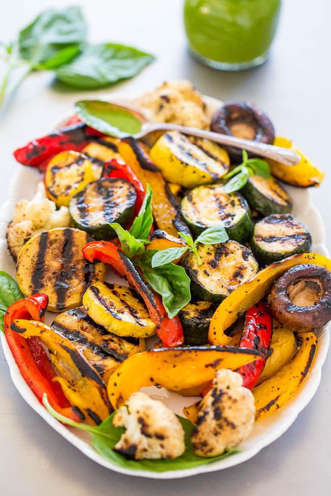 Healthy Summer Vegetarian Recipes  47 Vegan Summer Recipes for BBQ Parties and Grilling