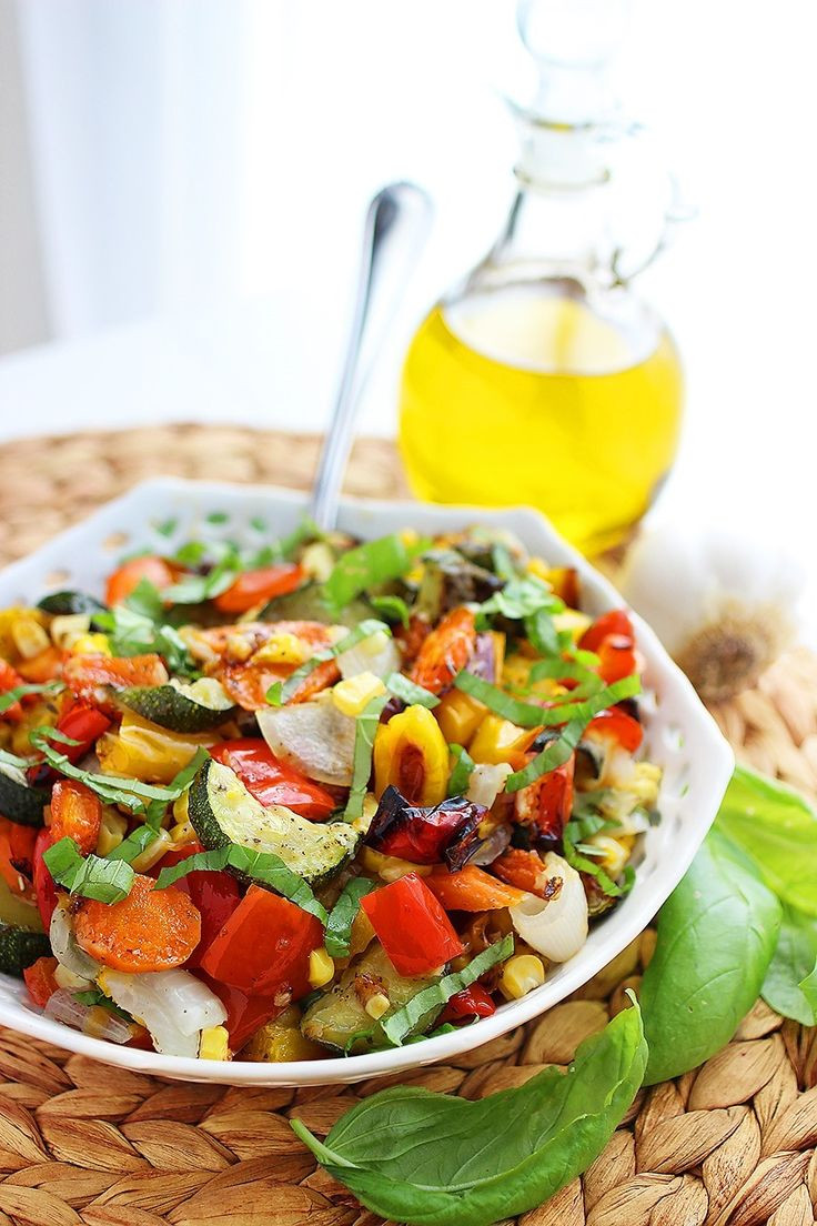 Healthy Summer Vegetarian Recipes  481 best Ve able dishes images on Pinterest