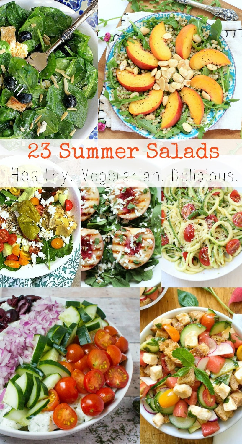 Healthy Summer Vegetarian Recipes  43 Healthy y Summer Salads Your Body Will Love