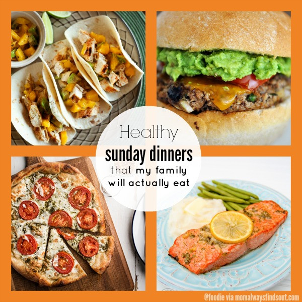 Healthy Sunday Dinner  Healthy Dinner Recipes Collection