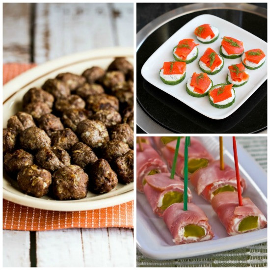 Healthy Super Bowl Appetizers  Kalyn s Kitchen 50 Deliciously Healthy Low Carb and