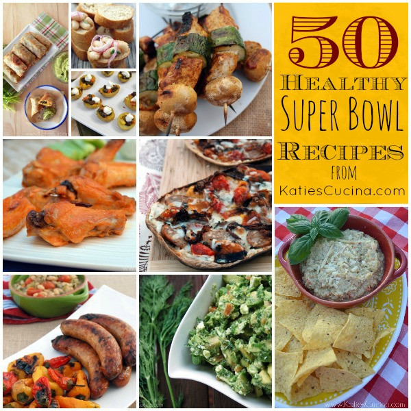 Healthy Super Bowl Appetizers  50 Healthy Super Bowl Recipes Google Hangout on Healthy