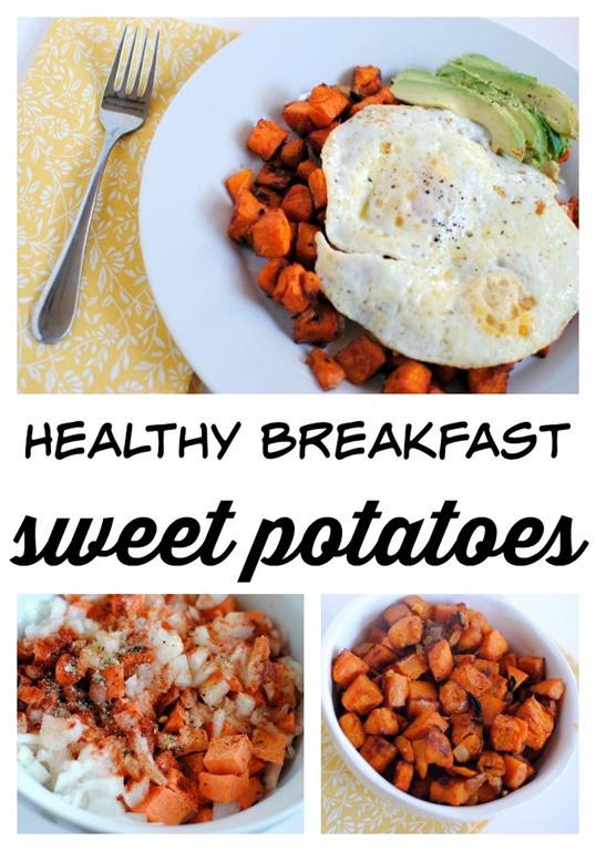 Healthy Sweet Breakfast  Healthy Breakfast Sweet Potatoes Peanut Butter Fingers