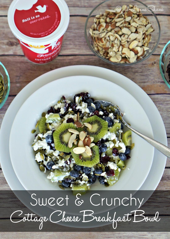 Healthy Sweet Breakfast  Healthy Breakfast Ideas Cottage Cheese Breakfast Bowl