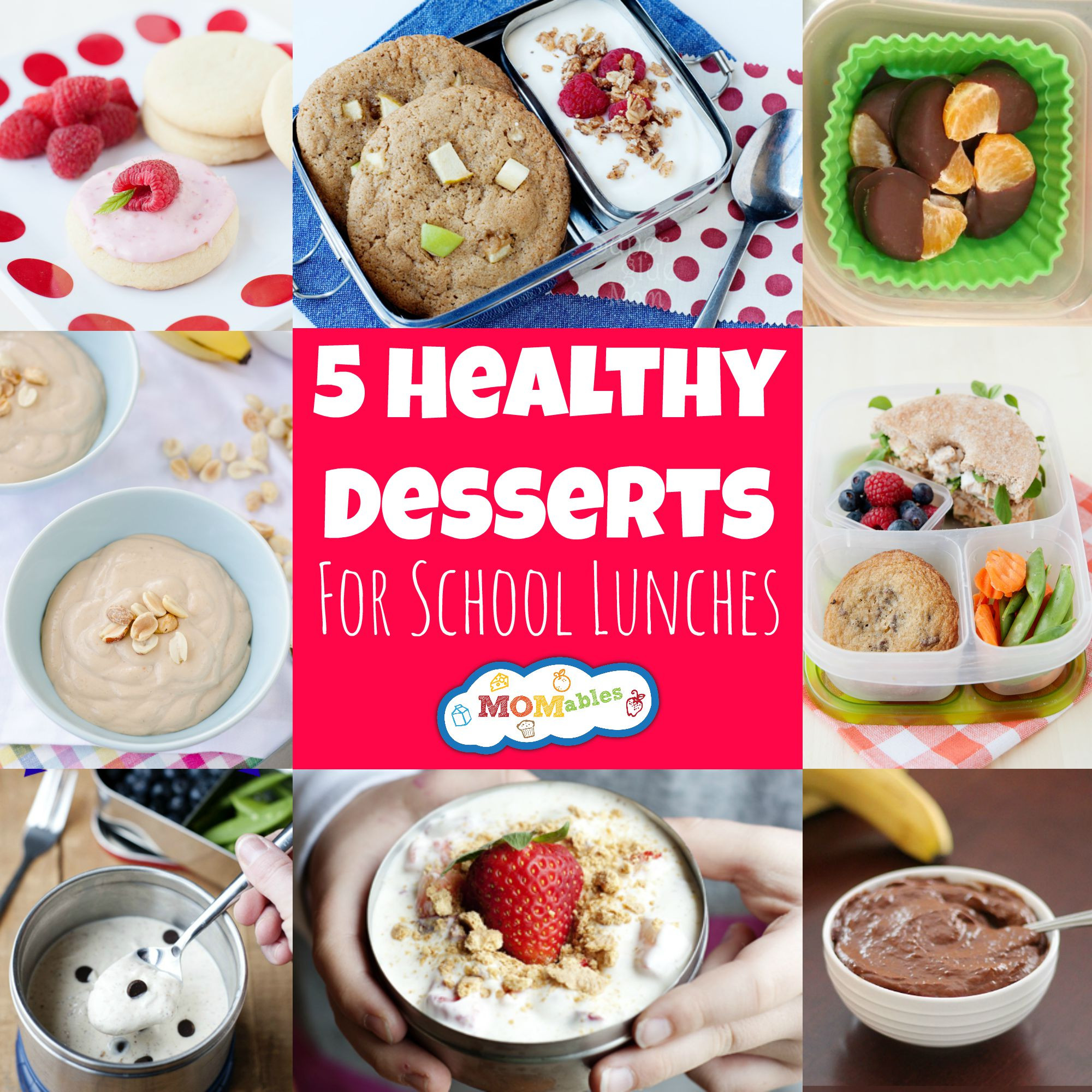 Healthy Sweet Desserts  5 Healthy Desserts for School Lunches MOMables