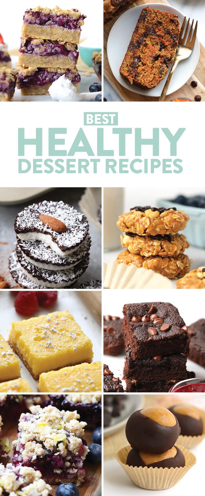 Healthy Sweet Desserts  Healthy Dessert Recipes gluten free paleo & vegan
