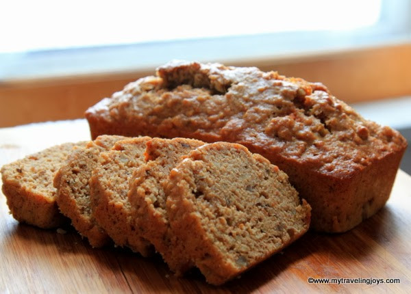 Healthy Sweet Potato Bread  Healthy Sweet Potato & Parsnip Quick Bread My Traveling Joys