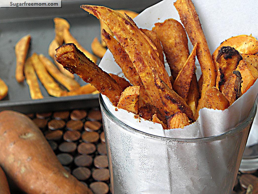 Healthy Sweet Potato Fries  Healthy Baked Sweet Potato Fries