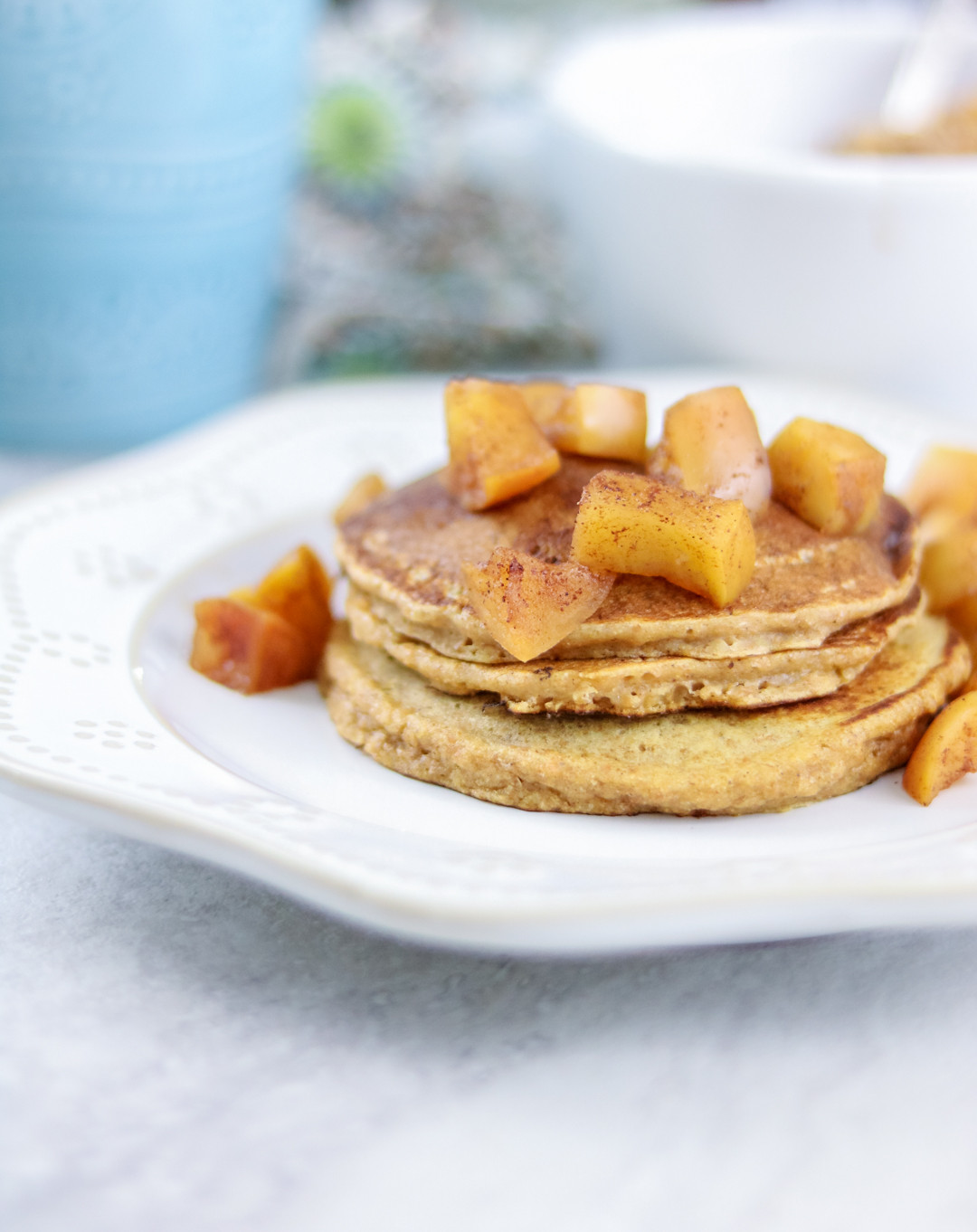 Healthy Sweet Potato Pancakes  healthy sweet potato pancakes