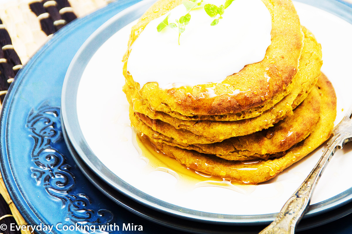 Healthy Sweet Potato Pancakes  Baked Sweet Potato Pancakes Healthy Pancakes