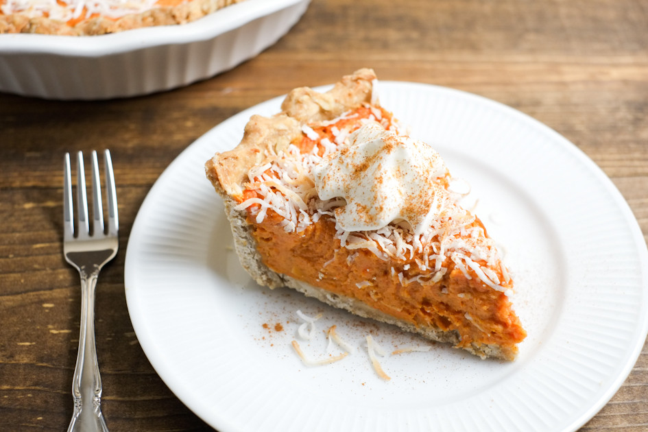Healthy Sweet Potato Pie Recipe  Coconut Sweet Potato Pie Recipe