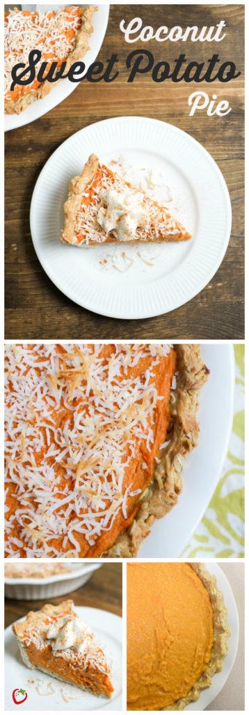 Healthy Sweet Potato Pie  Coconut Sweet Potato Pie Recipe