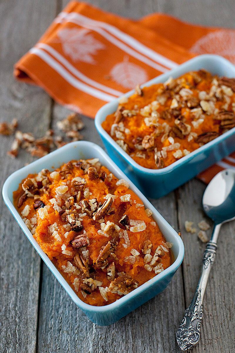 Healthy Sweet Potato Recipe  Healthy Coconut Ginger Sweet Potato Casserole Recipe