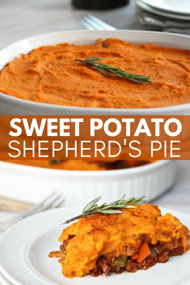 Healthy Sweet Potato Shepherd'S Pie  Our Top 10 Most Pinned Recipes Get Healthy U