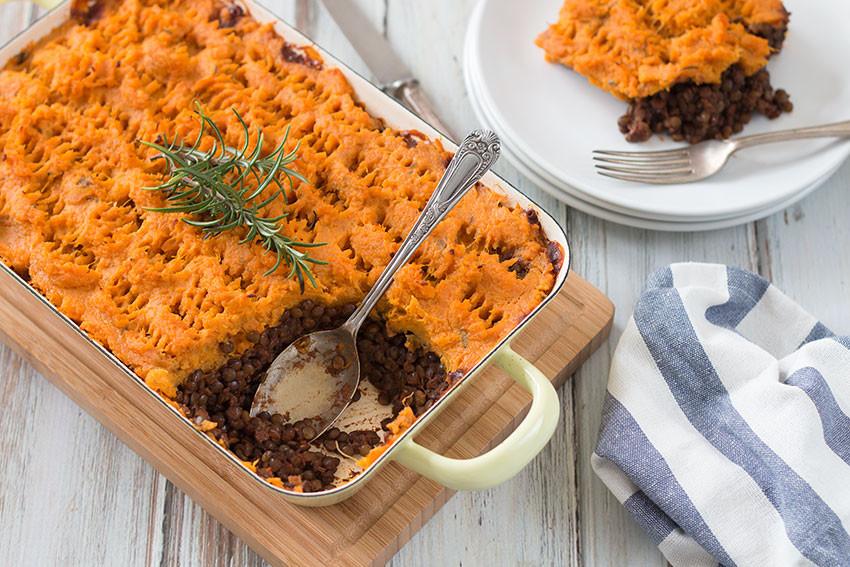 Healthy Sweet Potato Shepherd'S Pie  Vegan Shepherd s Pie With Sweet Potatoes The Healthy Tart