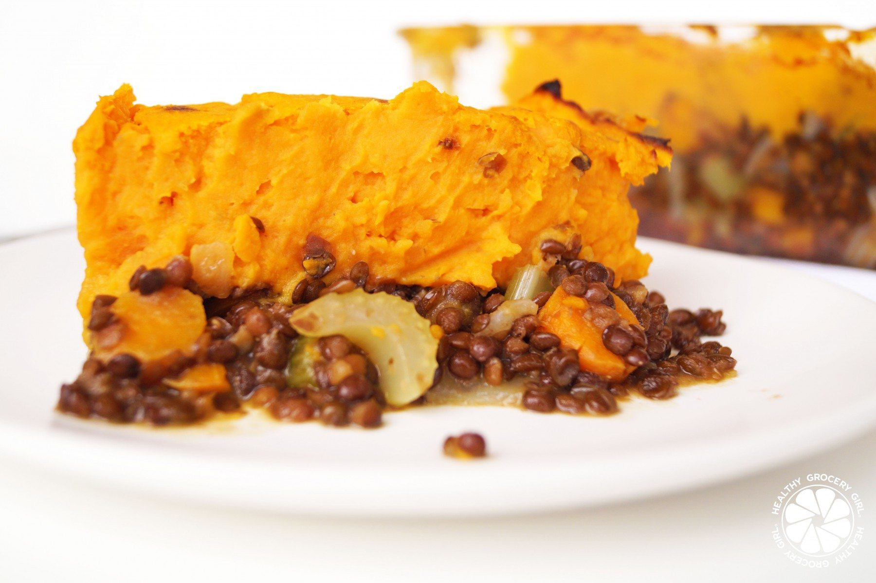 Healthy Sweet Potato Shepherd'S Pie  Healthy Grocery Girl