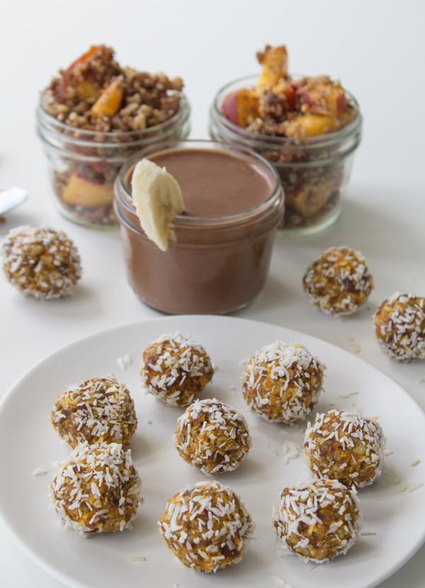 Healthy Sweet Snacks  Six Easy Delicious & Healthy Vegan Snacks