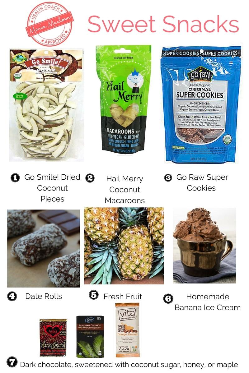 Healthy Sweet Snacks To Buy  22 Healthy Snack Ideas