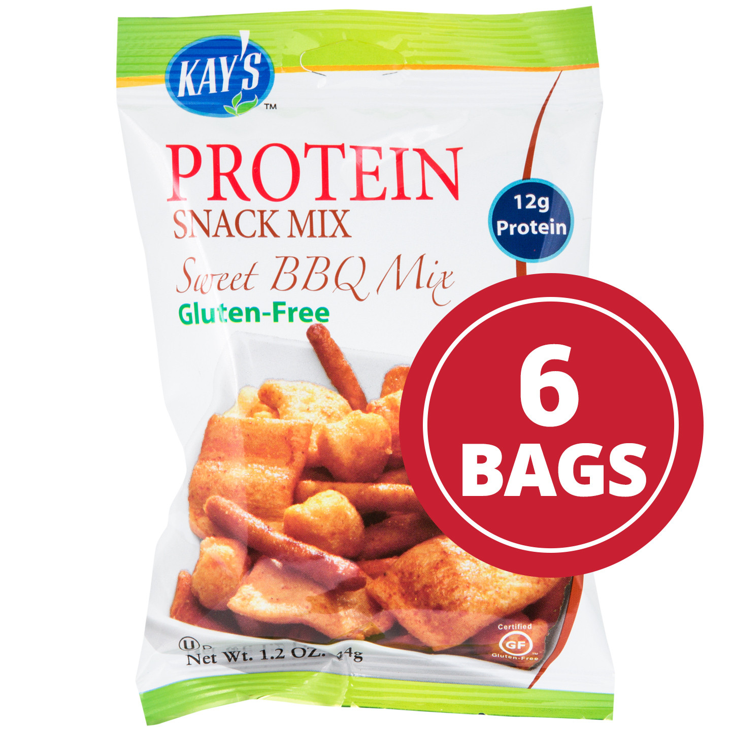 Healthy Sweet Snacks To Buy  Buy Protein Snacks Sweet BBQ Mix 6ct Kay s Naturals