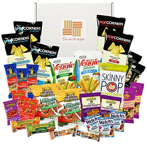 Healthy Sweet Snacks To Buy  Healthy Snacks Care Package by Snackage 31 Count