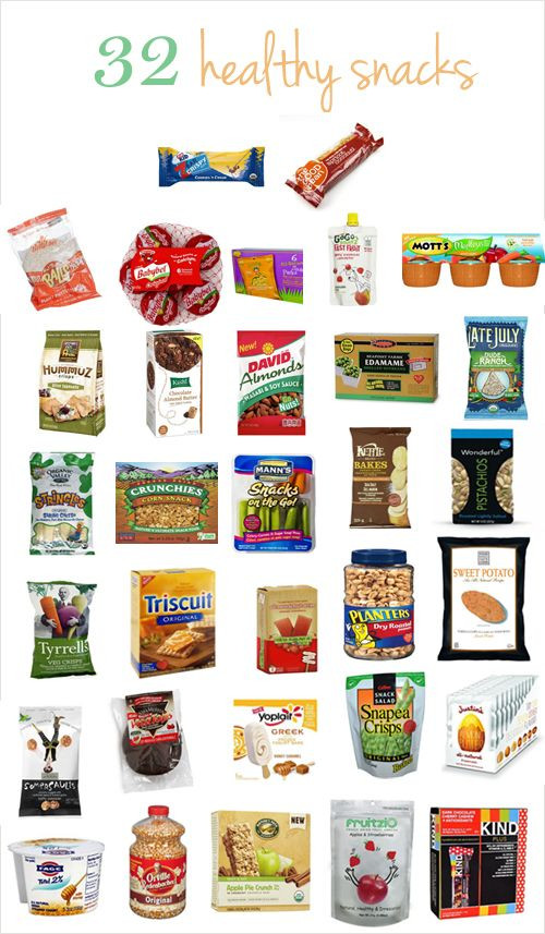 Healthy Sweet Snacks To Buy  32 healthy snacks from salty to sweet and everything in