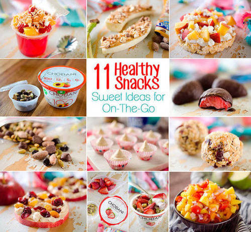 Healthy Sweet Snacks  11 The Go Healthy Snack Recipes Women s Running