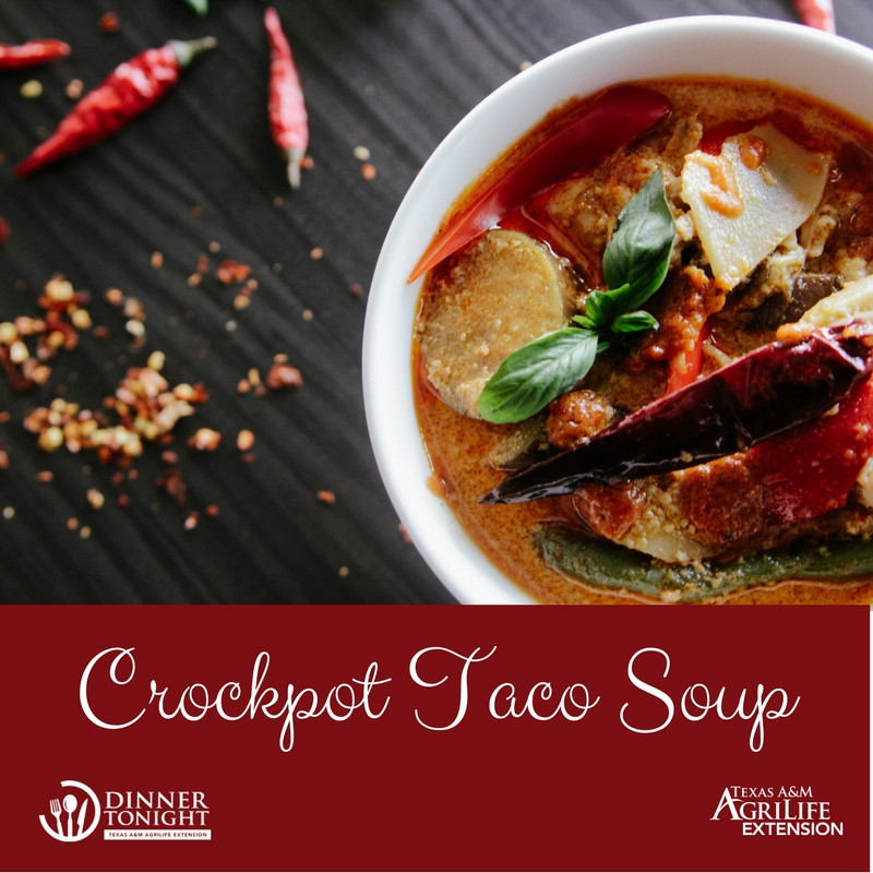 Healthy Taco Soup With Ground Beef  Crockpot Taco Soup Recipe healthy soup recipes
