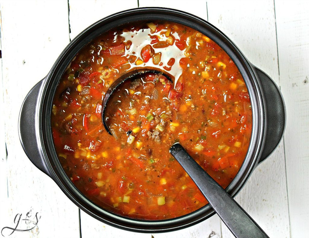 Healthy Taco Soup With Ground Beef  Taco Soup Homemade Taco Seasoning Recipe