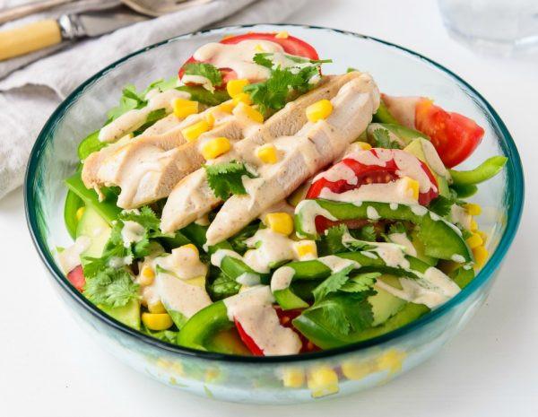 Healthy Tasty Salads  Fresh And Tasty Southwest Chicken Salad Recipe