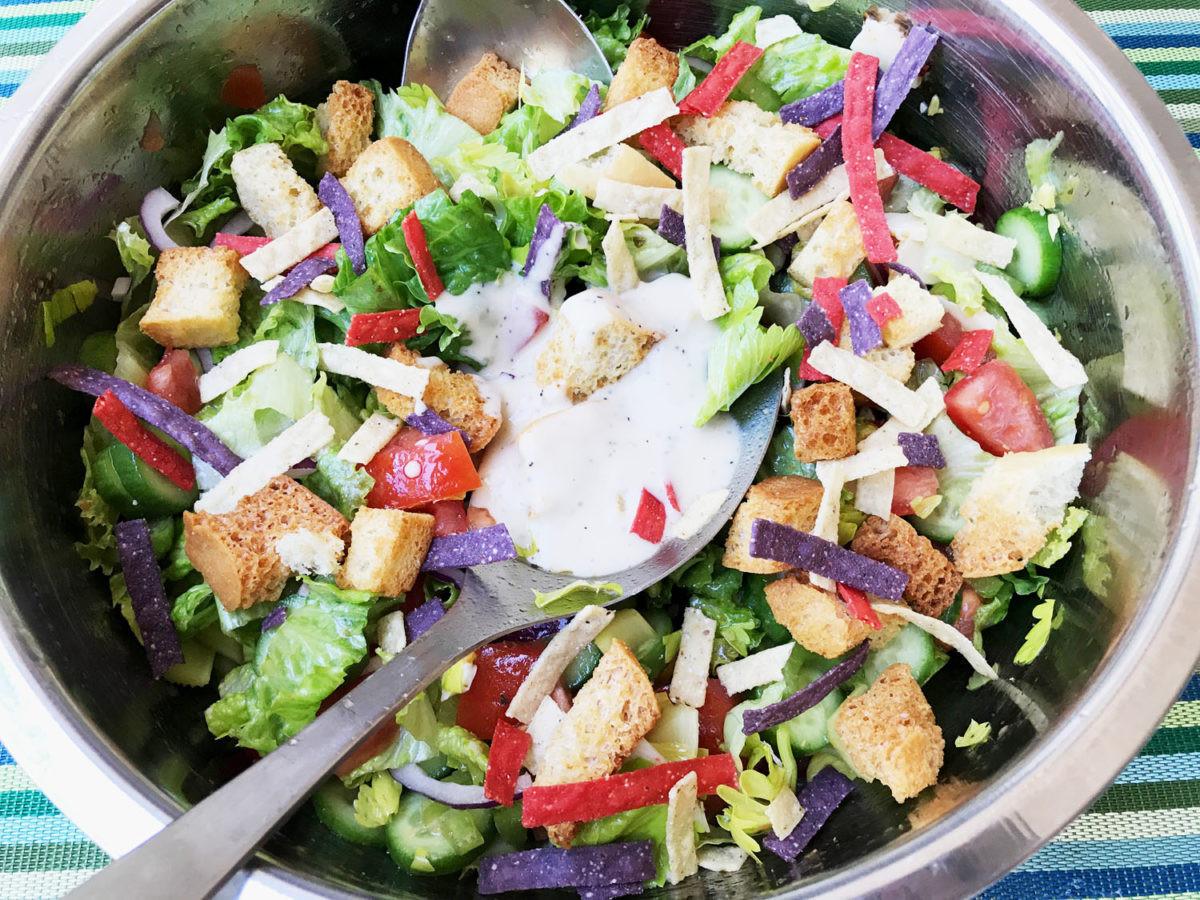 Healthy Tasty Salads  Delicious Healthy Tossed Salad Versatile Foo
