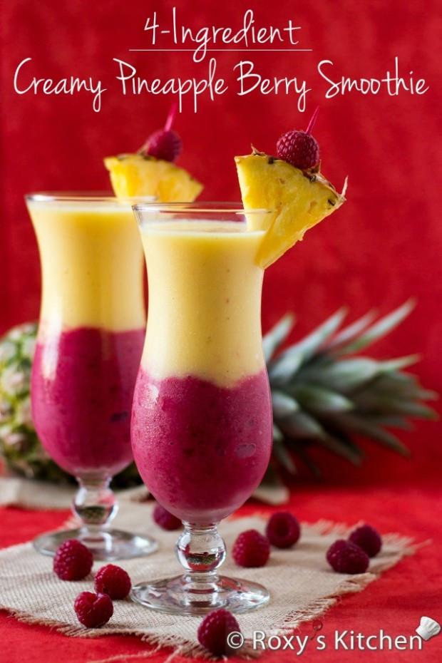 Healthy Tasty Smoothies  18 Tasty and Healthy Summertime Snacks Style Motivation