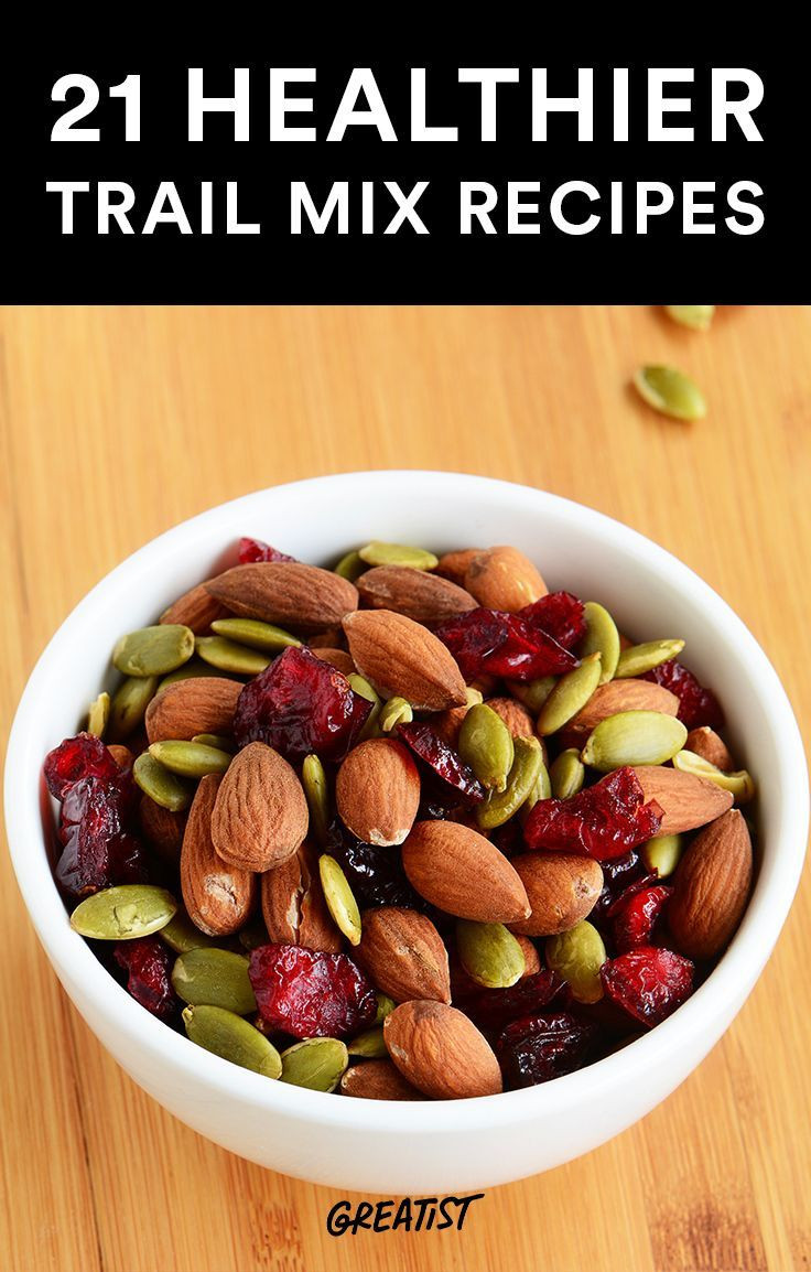 Healthy Tasty Snacks  21 Healthier Trail Mix Recipes to Make Yourself
