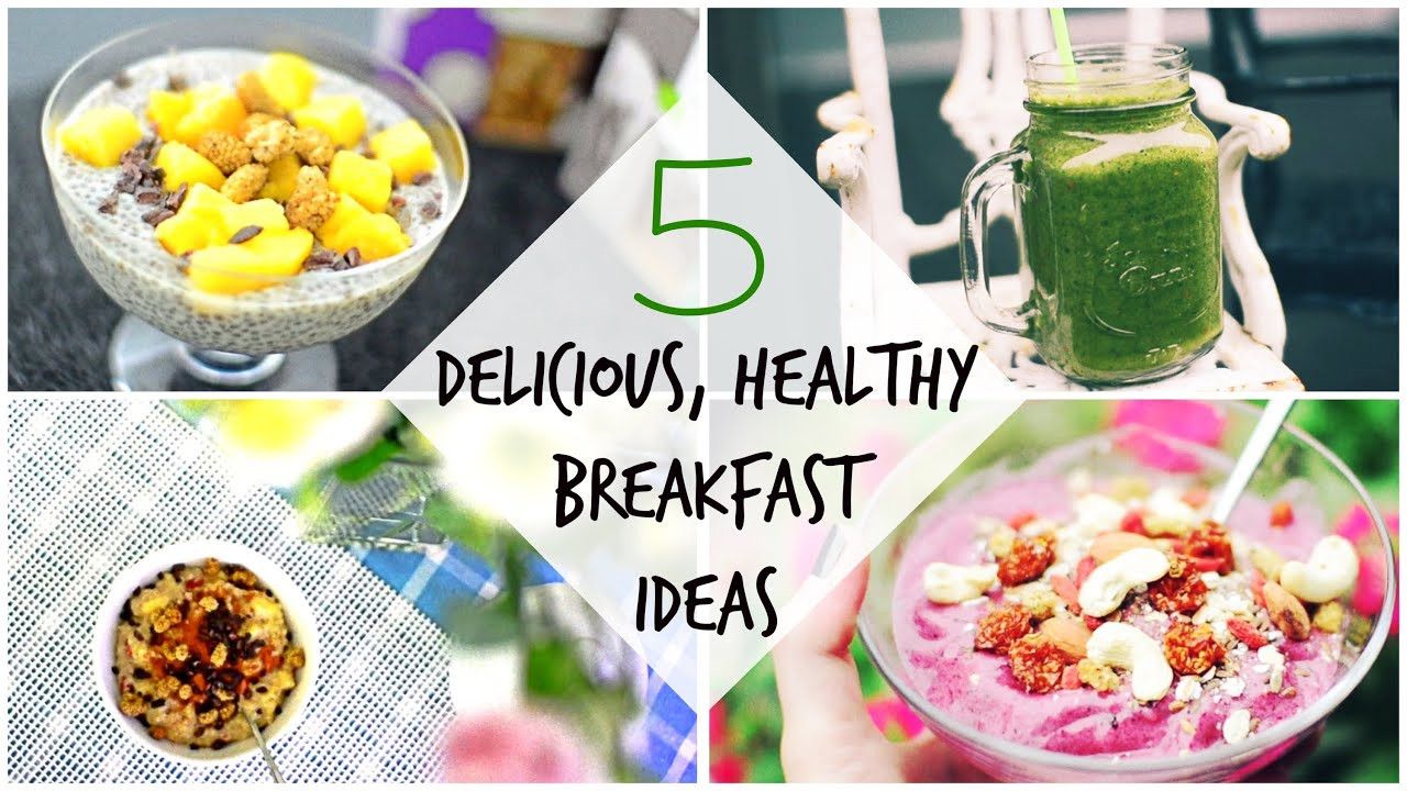 Healthy Tasty Vegetarian Recipes  5 Delicious Healthy Vegan Breakfast Recipes