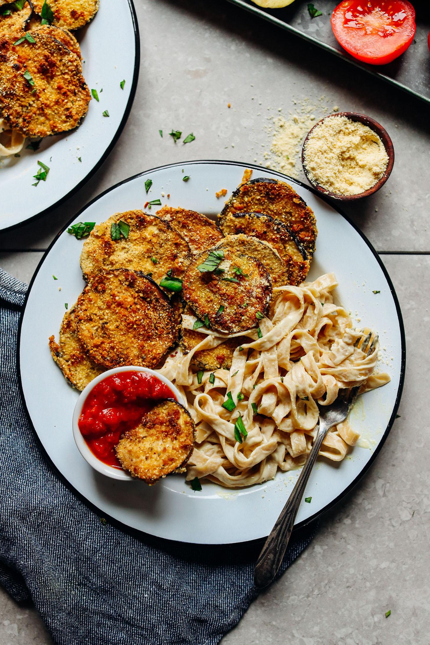 Healthy Tasty Vegetarian Recipes  Vegan Gluten Free Eggplant Parmesan
