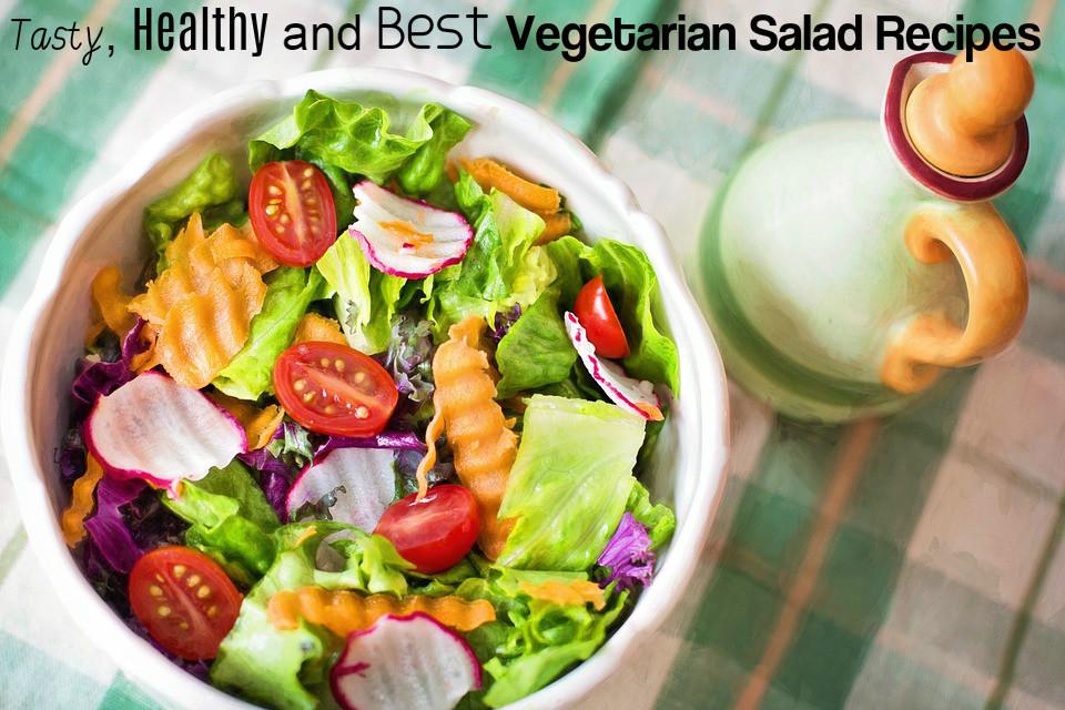 Healthy Tasty Vegetarian Recipes  Tasty Healthy and Best Ve arian Salad Recipes Stylish