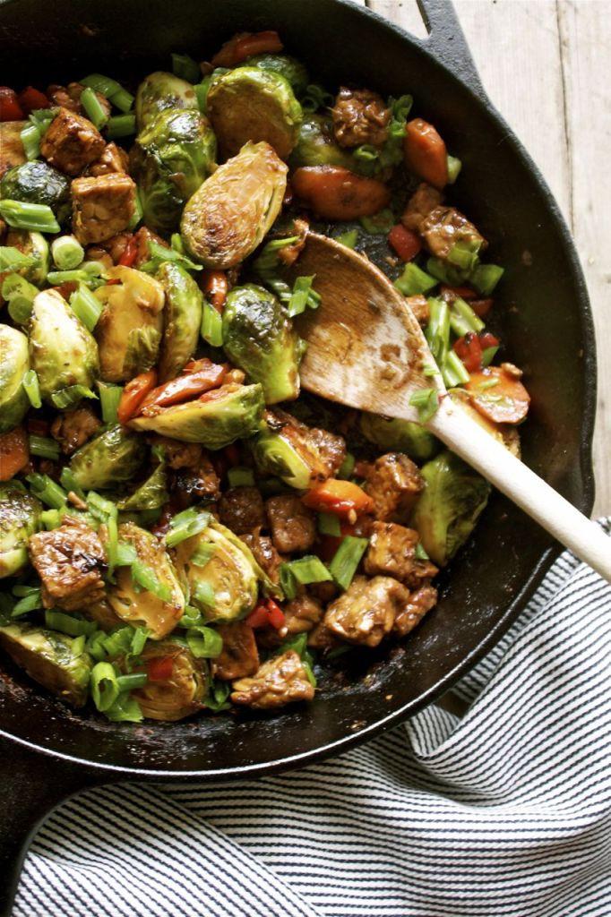 Healthy Tempeh Recipes  This Week s Vegan Menu Plan