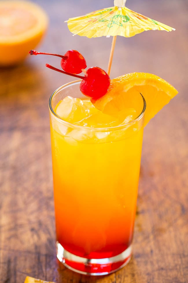 Healthy Tequila Drinks  Tequila Sunrise Fun Tequila Cocktails