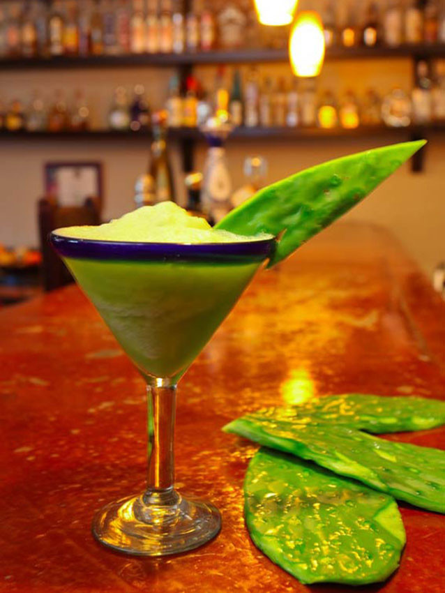 Healthy Tequila Drinks  Healthy Nopal Margarita at Habaneros