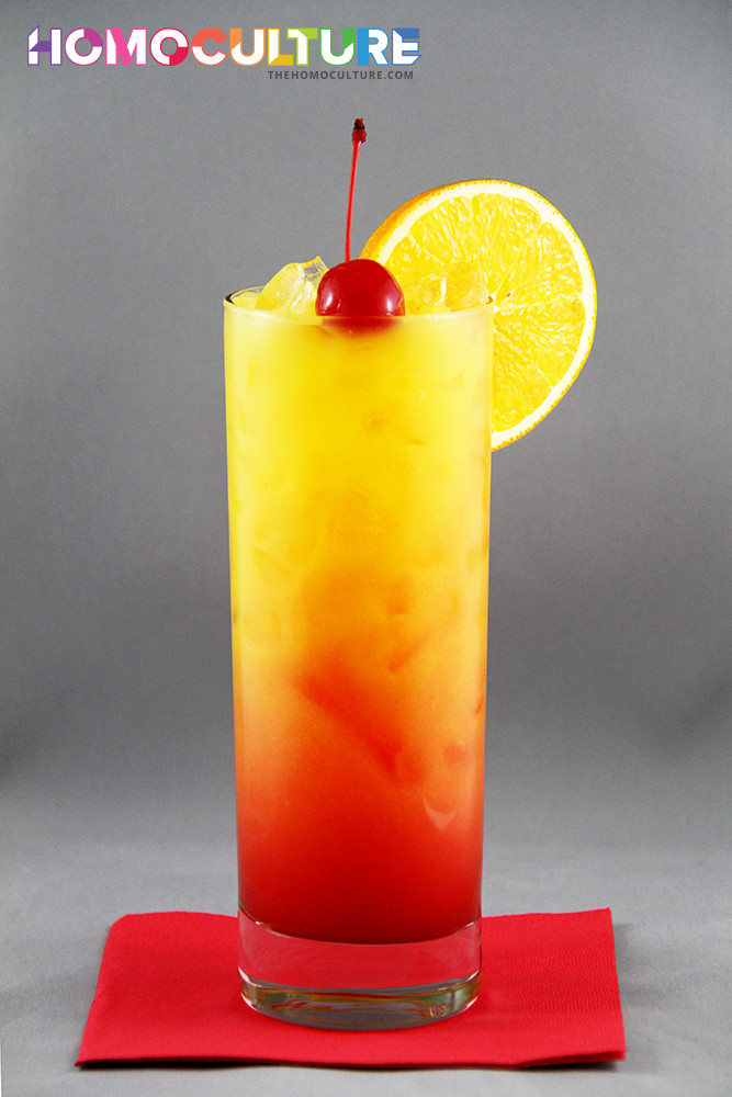 Healthy Tequila Drinks  Tequila Sunrise TheHomoCulture