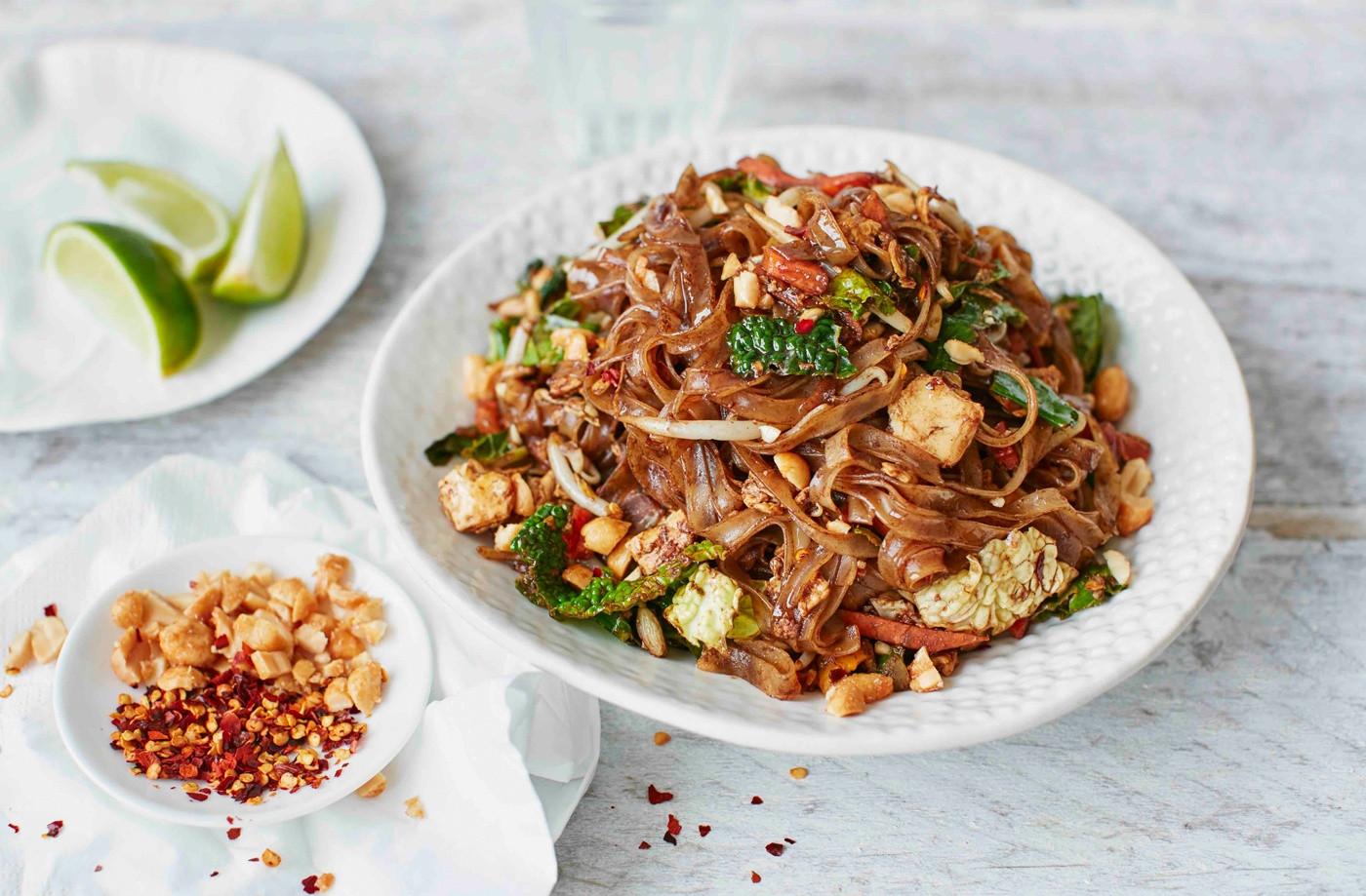 Healthy Thai Food Recipes  Ve able pad Thai