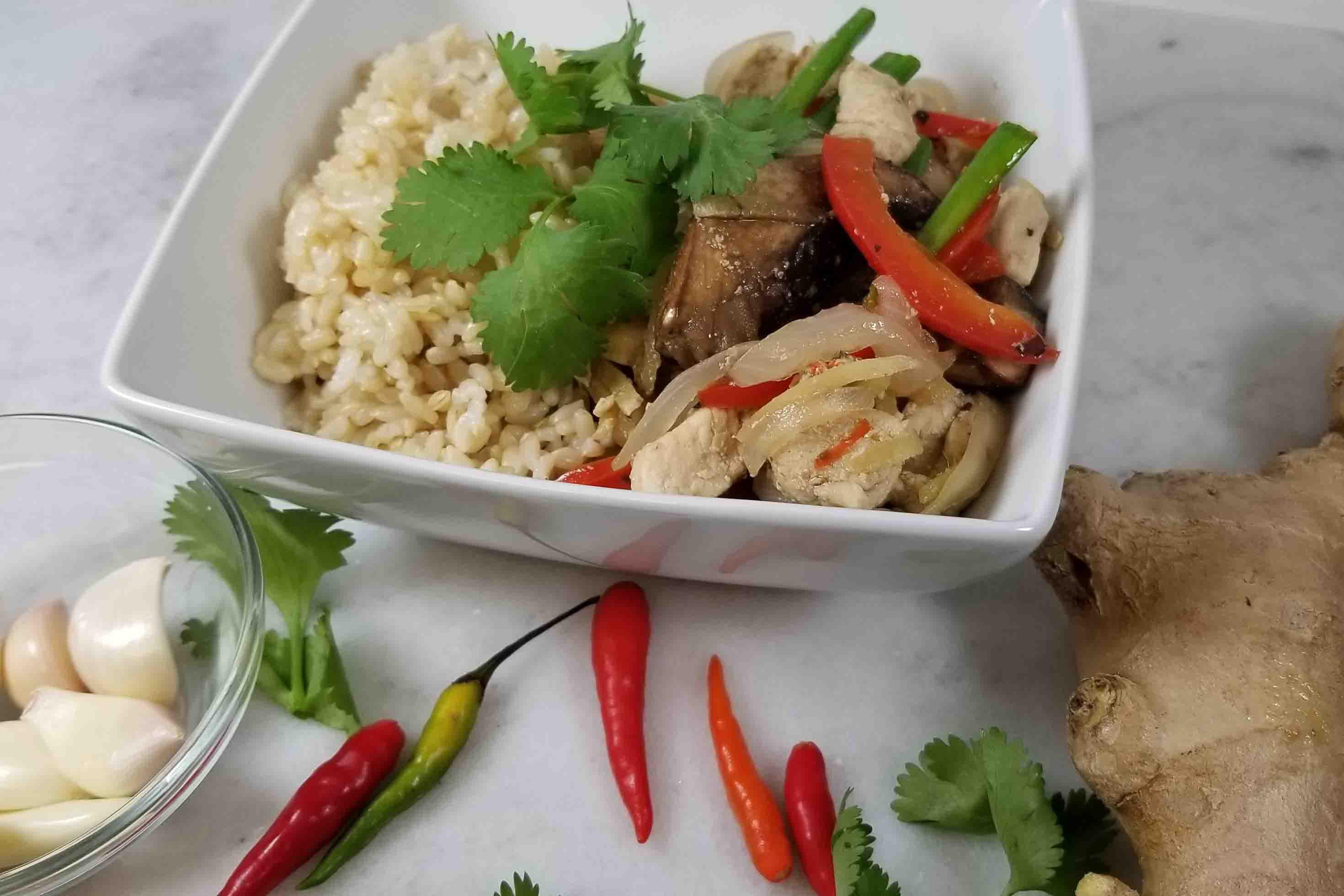 Healthy Thai Food Recipes  Ginger Thai Recipe Healthy Thai Recipes