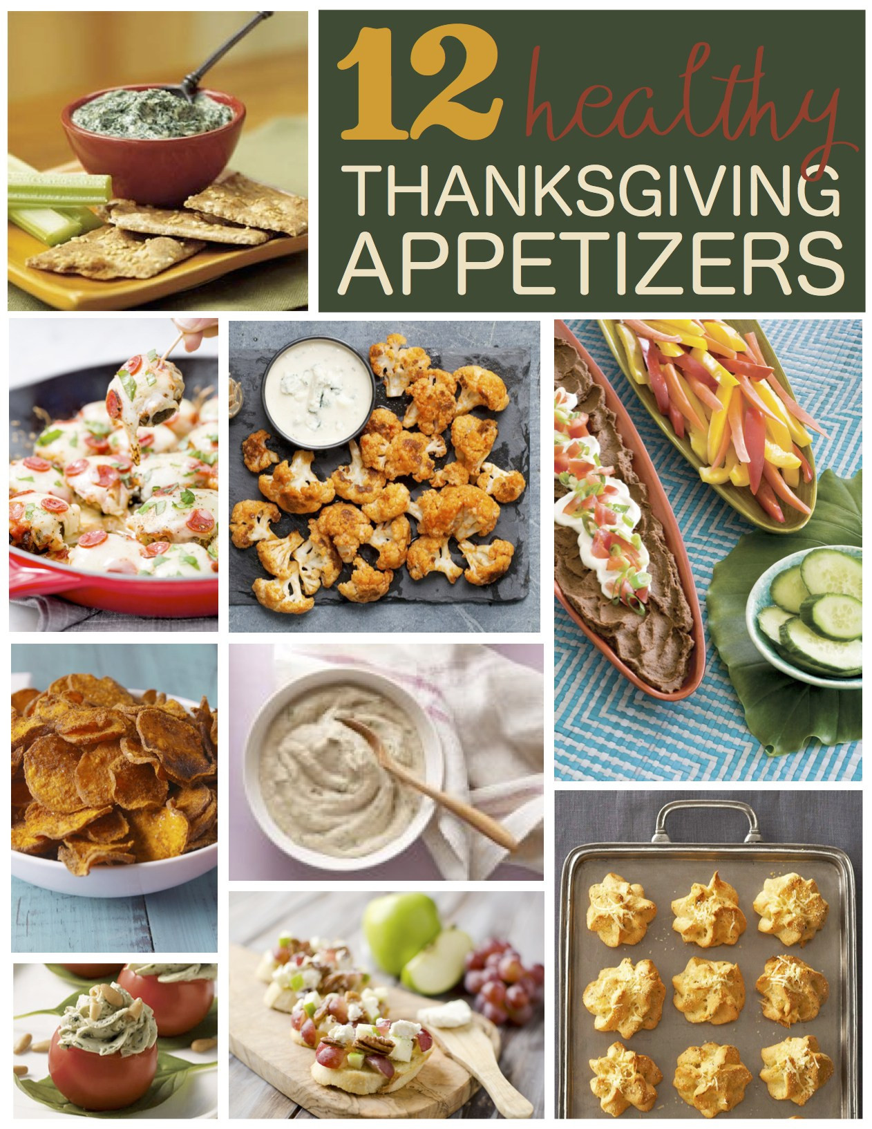 Healthy Thanksgiving Appetizer Recipes  12 Healthy Thanksgiving Appetizer Recipes Six Clever Sisters