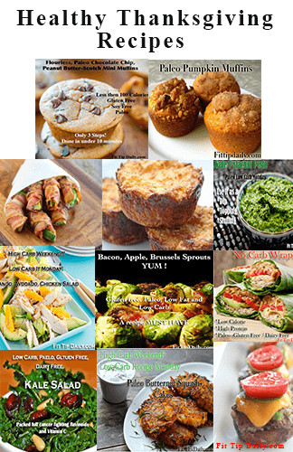 Healthy Thanksgiving Appetizer Recipes  Healthy Thanksgiving Recipes Low Carb Recipe Monday