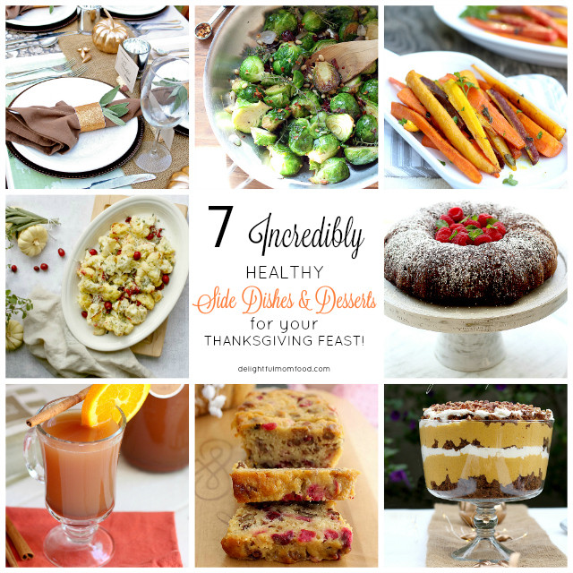 Healthy Thanksgiving Dessert Recipes  7 Healthy Thanksgiving Desserts And Side Dishes