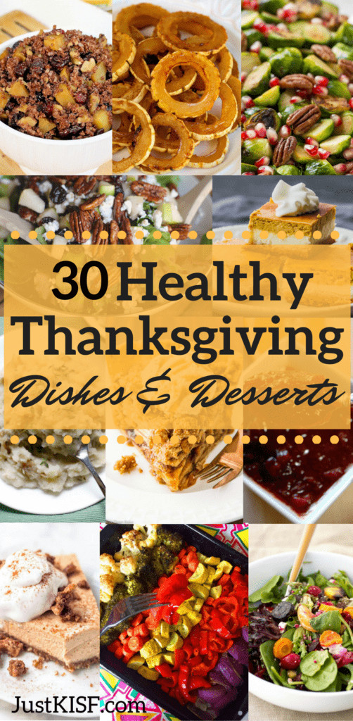 Healthy Thanksgiving Dessert Recipes  Healthy Thanksgiving Dishes and Desserts