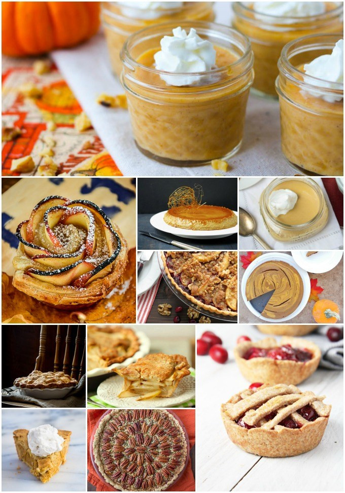 Healthy Thanksgiving Desserts  healthy thanksgiving desserts