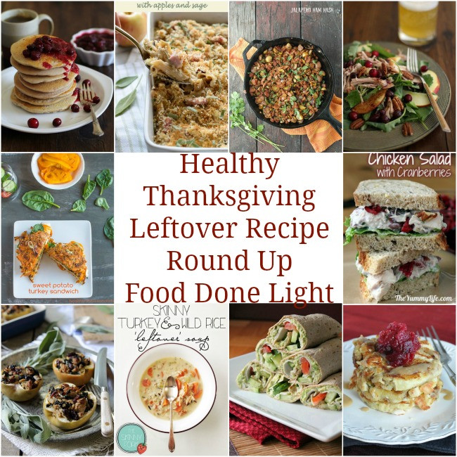 Healthy Thanksgiving Leftover Recipes  Healthy Thanksgiving Sides & Desserts Recipes Food Done