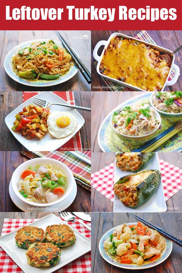 Healthy Thanksgiving Leftover Recipes  12 Leftover Turkey Recipes