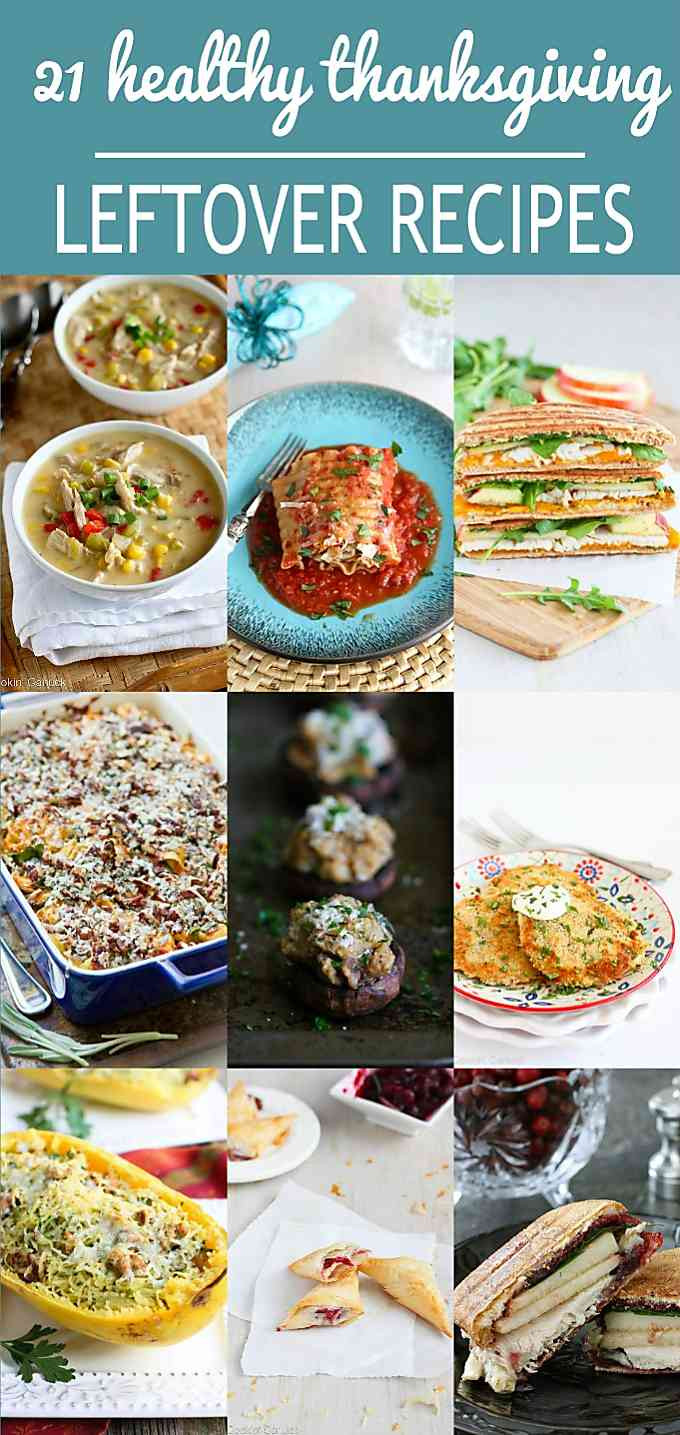 Healthy Thanksgiving Leftover Recipes  21 Healthy Thanksgiving Leftover Recipes Cookin Canuck