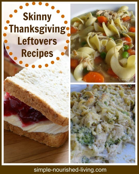 Healthy Thanksgiving Leftover Recipes  Skinny Leftover Turkey Recipes for Weight Watchers